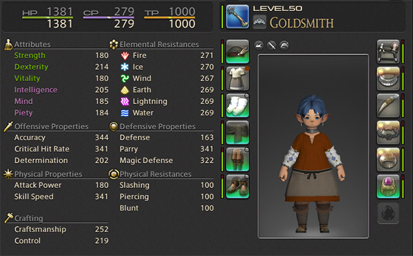 Level 50 Goldsmith